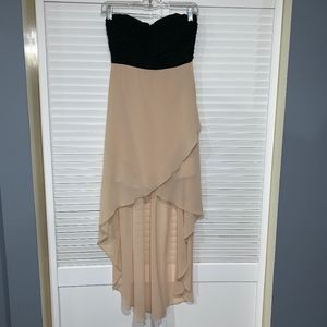 Windsor High Low Strapless Dress